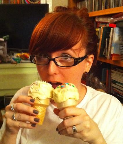 Gluten free dairy free cupcake cones