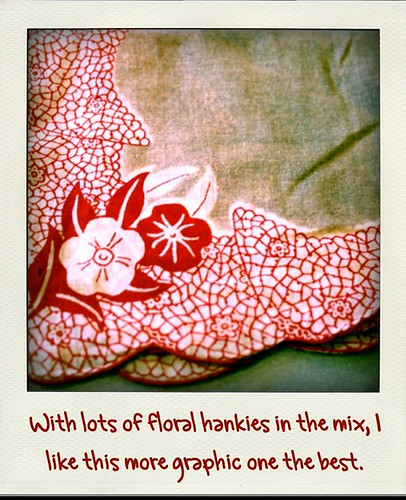 Graphic Floral Hanky roid