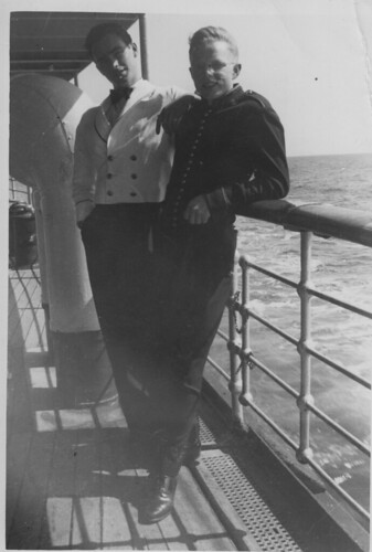 Fellow crew on the SS Princess Norah in the Canadian Merchant Marine circa 1948.
