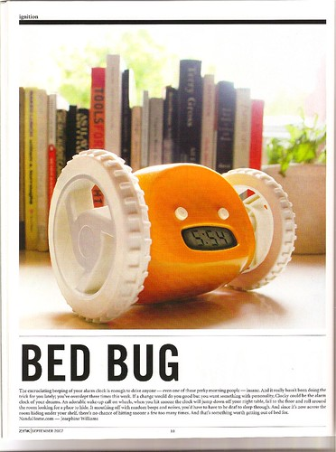 Zink Magazine Bed Bug