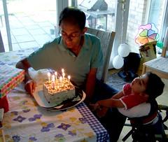 Shami's birthday cake