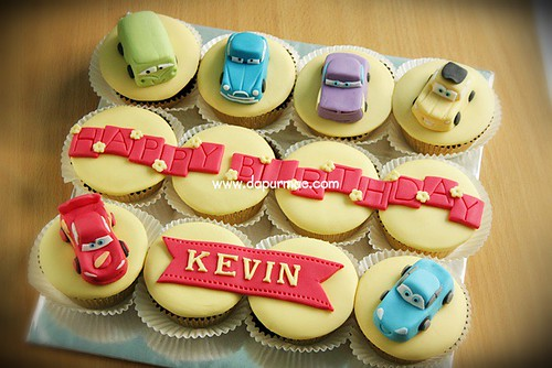 Disney Cars Cupcake Set