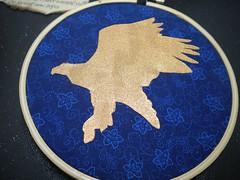 Stenciled Eagle