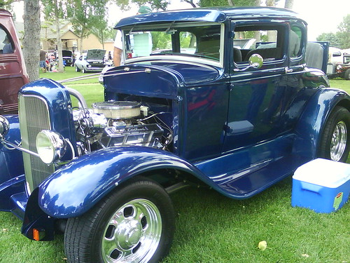 Award-winning 30's Ford Coupe
