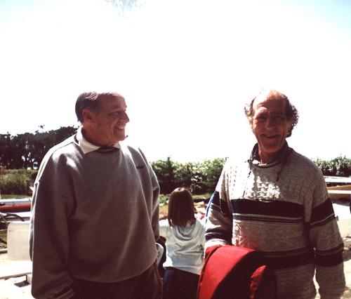 Derek Kelsall et Eugène Riguidel (2002)