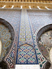 Two Doors (Lilybeth29) Tags: palace morocco fes zellij