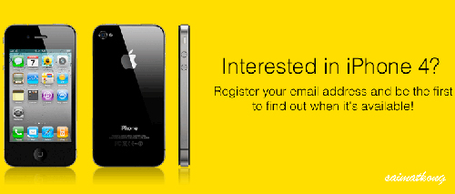 Digi iPhone 4 Pre-order / Registration