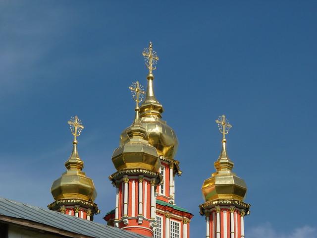 Sergiev Posad Troitse Sergius Lavra Monastery in Zagorsk