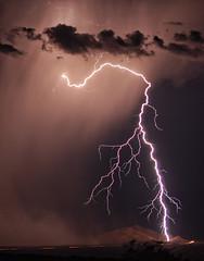"Reach Out & Touch Someone (Steven Maguire Photography) Tags: arizona monsoon thunderstorm lightning therebeastormabrewin ""flickraward"" arizonathunderstorms bestcapturesaoi elitegalleryaoi mygearandmepremium mygearandmebronze ringexcellence dblringexcellence"