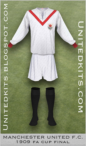 Manchester United 1909 FA Cup Final kit