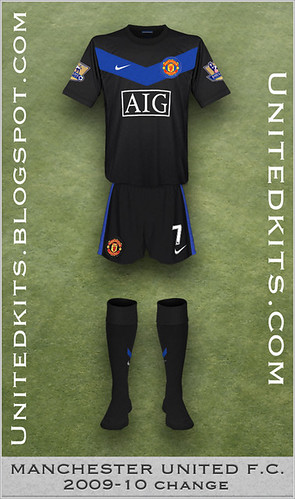 Manchester United 2009-10 Change kit
