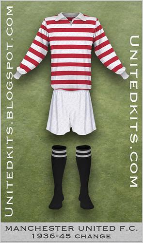 Manchester United 1936-1945 Change (variant)