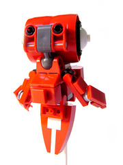 GSU - General Support unit (~Ian) Tags: red robot support lego general little android mecha gsu unit legless