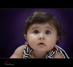 Cute baby [ Explore ] (ANOODONNA) Tags: portrait girl studio explore canonef2470mmf28lusm cutebaby  canoneos50d anoodonna  alanoodalrasheed