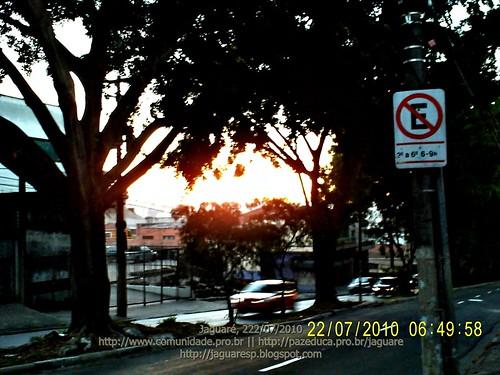 Amanhecer no Jaguare (SP) - 22/07/2010