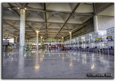 Málaga Airport T3 #13 :: HDR