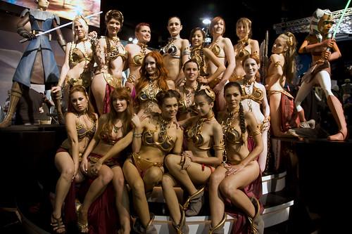 Ladies of Leia's Metal Bikini