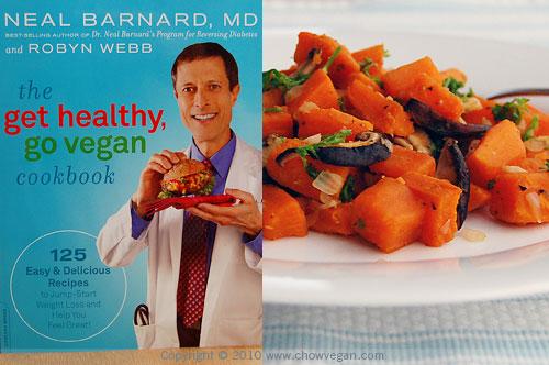 Sweet Potato Hash From The Get Healthy, Go Vegan Cookbook