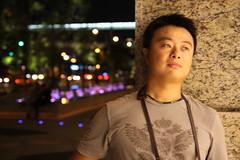 Taipei City - Bruce (chloe Q) Tags: portrait downtown taiwan 101 taipei nightview  shinyi