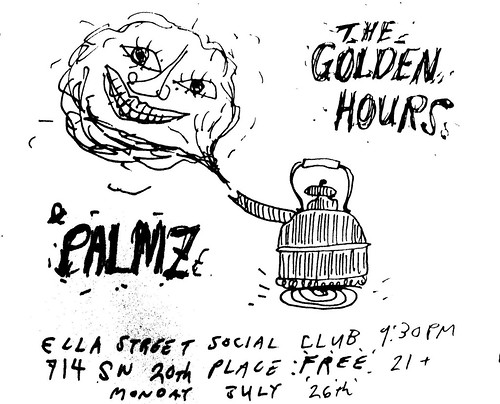 Golden Hours and Palmz at Ella St July 26