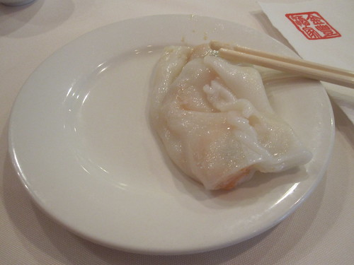 "Shrimp ""sheet"" dumpling"