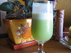 celery apple ginger juice