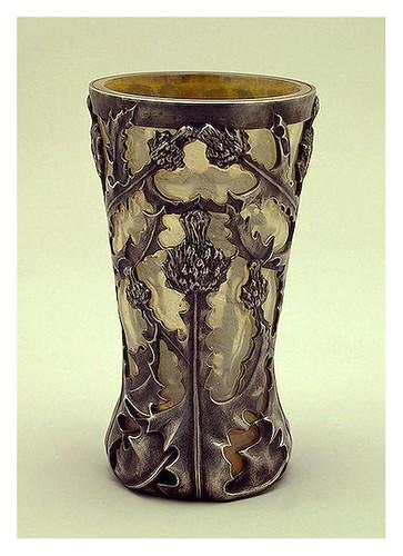 011-Vaso de Vino-De plata y vidrio fundido y cincelado Lalique Jules René-Francia. París 1902-Copyright ©2003 State Hermitage Museum