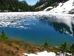 Melting Twin Lakes Beauty