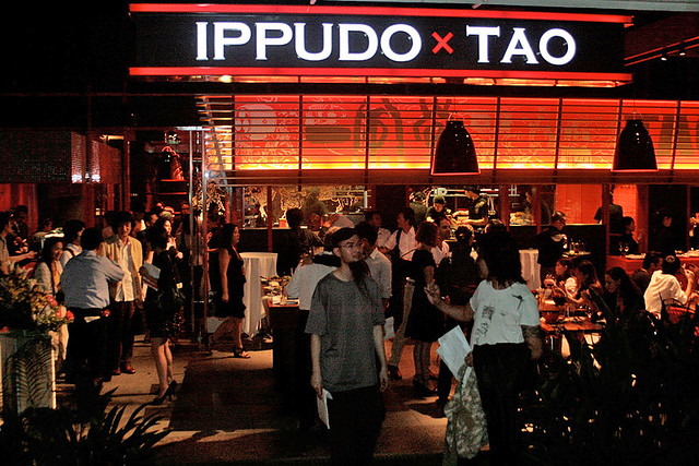Ippudo TAO is at UE Square facing Mohammed Sultan Road