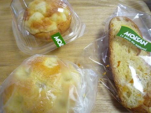 モワザン(MOiSAN)のパン