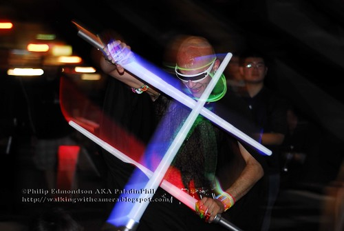 Newminds Space Light Saber Battle