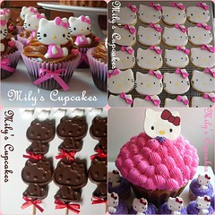 Linea Kitty (Mily'sCupcakes) Tags: pink girl toy kitty mickey story pooh pepe minnie sapo winnie