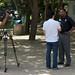 Ted Chen interviewing Manhattan Beach Mayor Mitch Ward