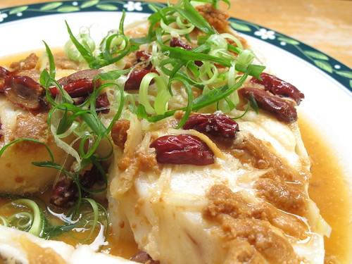 Steamed Miso Cod Fish