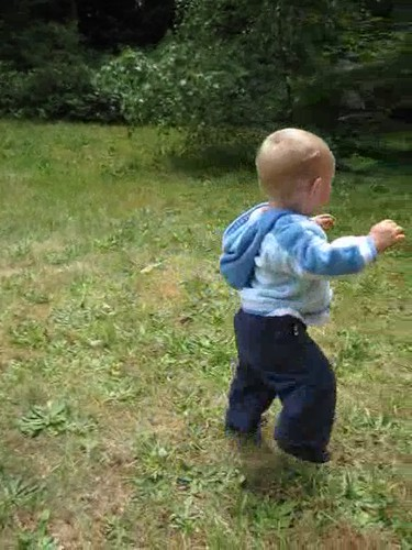 Nate walking