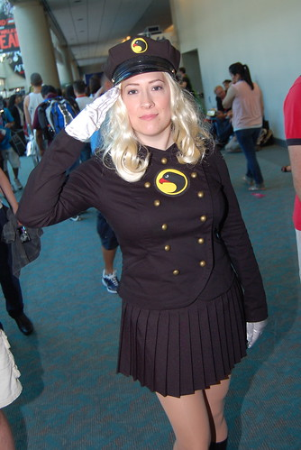 Comic Con 2010: Lady Blackhawk