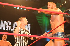 Matt Morgan & TNA Security vs Mr Anderson & Jeff Hardy