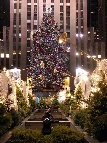 Árvore de Natal do Rockfeller Center - Reprodução