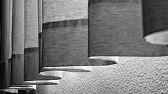 In Black & Curtains... (ToniMolero07) Tags: windows light bw españa sun luz sol wall lights luces moving andalucía spain aluminum shadows movimiento bn canvas ventanas fabric curtains andalusia breeze cortinas sombras málaga tela mmp brisa aluminio 2016 loneta tonimolero padfed