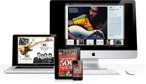 Zinio Brings Rolling Stone to Your Eyes and Ears with Top 500 Songs Issue