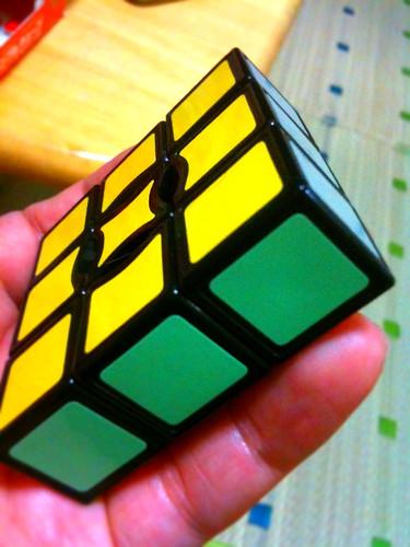 1*3*3のルービックキューブ。