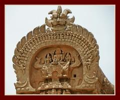 Gopuram facade Tanjore Big Temple (Indianature sp) Tags: sculpture india art heritage architecture painting temple unescoworldheritagesite unesco worldheritagesite shiva thanjavur siva lingam fresco tamil tamilnadu chola shivatemple dravidian gopuram tanjore bigtemple vimanam sivalingam brihadisvara brahadeeswarar periyakoil chozha indianature tanjorepainting periyakovil cholatemple cholaart brihadeeswarar cauverydelta dravidianheritage rajarajeswaram snonymous dravidianart pragadeeswarar greatlivingcholatemple ancienttamilnadu