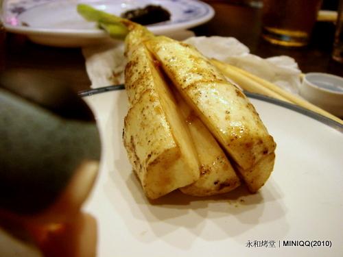 20100803 永和烤堂035 筊白筍