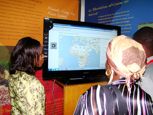 Ongoing Research Map in Africa demonstration