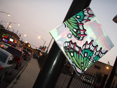Artillery (Barrybu) Tags: street chicago art butterfly square artillery logan