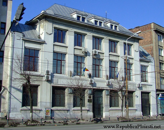 Art Deco in Ploiesti - Actualul sediu al BNR