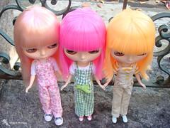 Krystelle, Kendra e Leticia