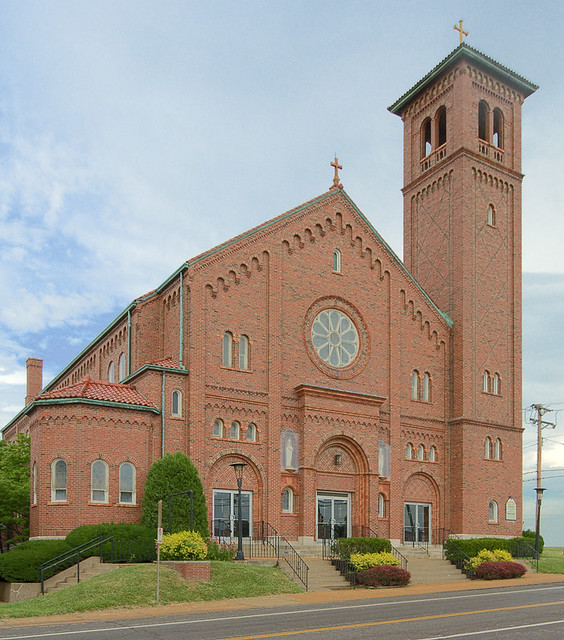 Saint Anthony Roman Catholic Church, in Lemay, Missouri, USA - exterior