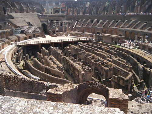 the origins and history of the roman colosseum Rome's colosseum, originally named the flavian amphitheater because it was   that is changing, though, as archaeologists have started the.