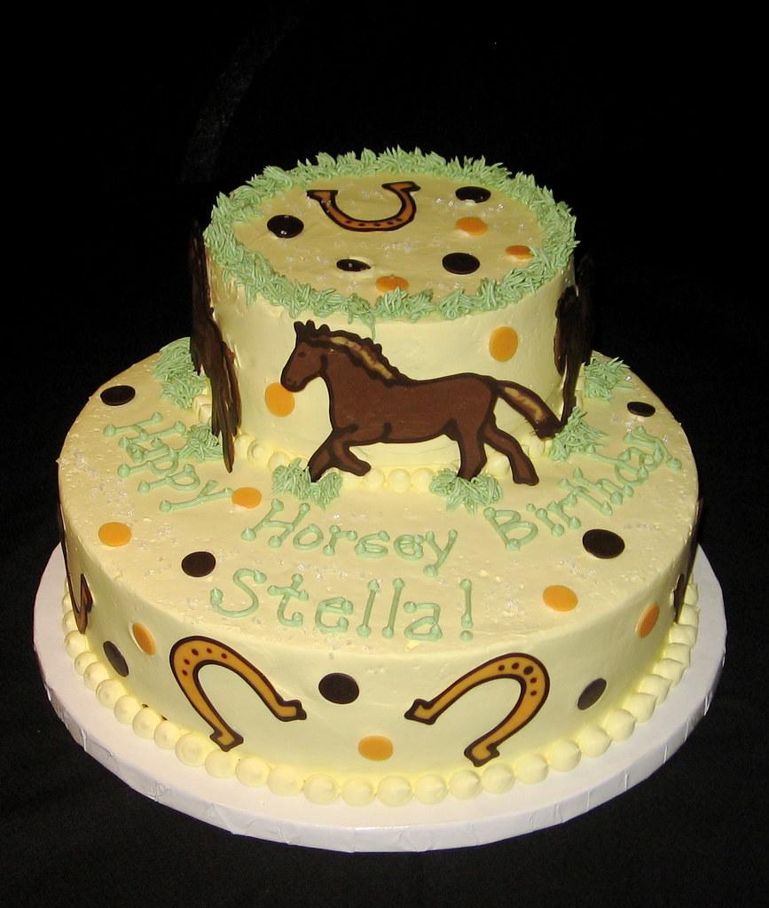 Horsey Birthday Cake Lillipies Tags Horse Cakes Nj Jens Princeton Pastries
